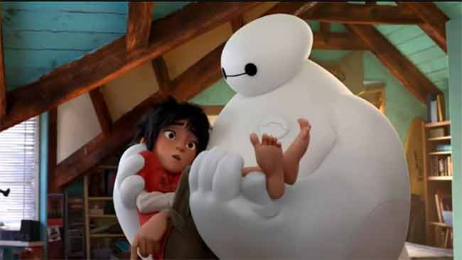 Big Hero 6 arriva anche in Italia