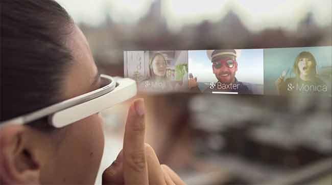 Google Glass arrivano nel 2015 con i chip Intel