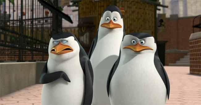 I pinguini di Madagascar spodestano Hunger Games al box office