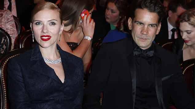 Scarlett Johansson il suo matrimonio privato negli States