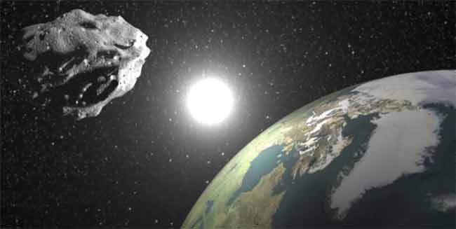 Lunedi asteroide sfiora la Terra visibile perfettamente