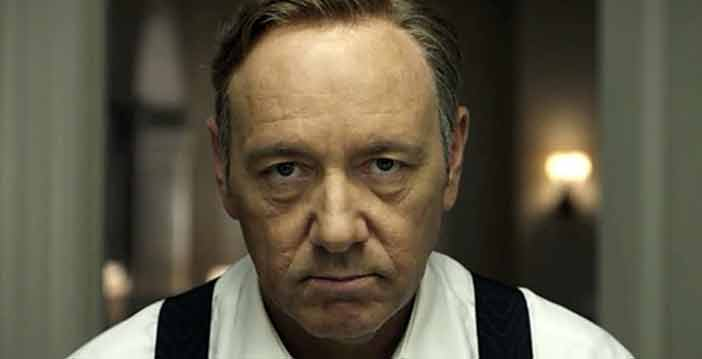 House of Cards Kevin Spacey sempre piu terza stagione