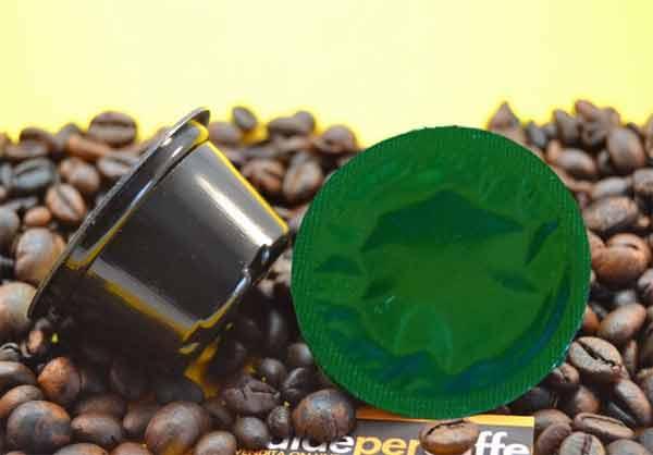 Capsula compostabile per il nuovo caffe