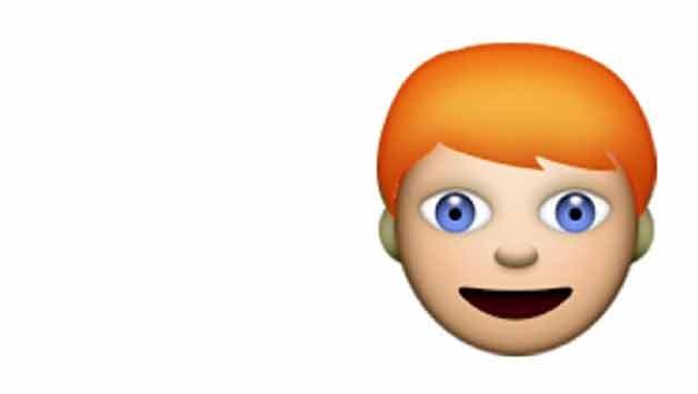 Le teste rosse vogliono le emoji dalla Apple