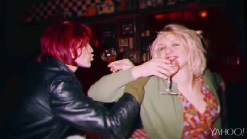 Nirvana e Kurt Cobain in Montage of Heck