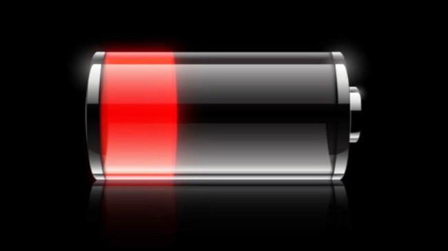 batteria scarica polistirolo