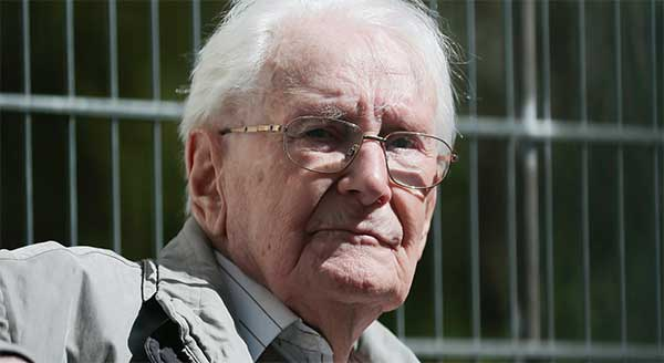 Auschwitz Oskar Groening il contabile che chiede scusa