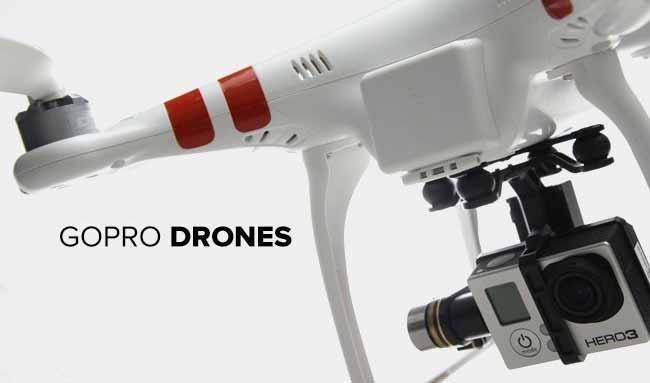 GoPro droni e riprese per la realta virtuale