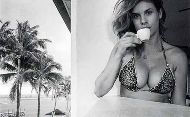 Elisabetta Canalis che maggiorata in bikini