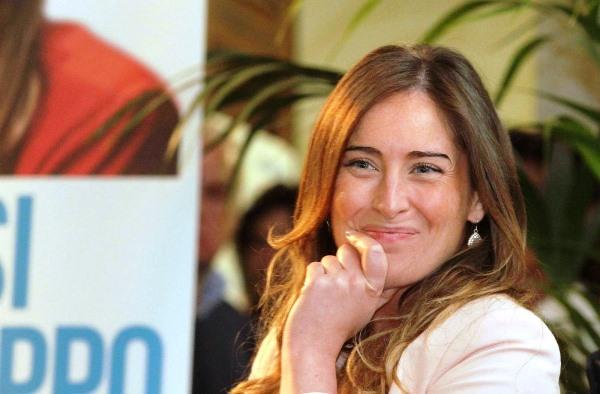 Maria Elena Boschi e Matteo Renzi, feeling politico