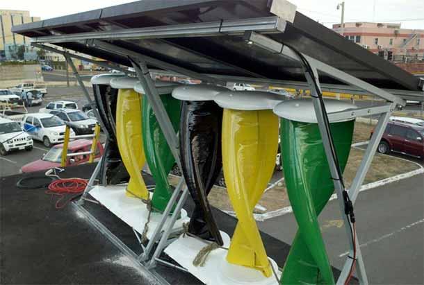 SolarMill sfruttare energia solare ed eolica insieme