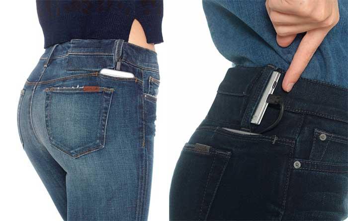 Hello Jeans i tuoi pantaloni ti caricano lo smartphone