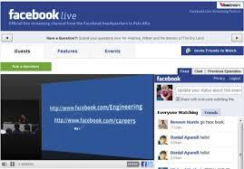 Facebook aumentano gli utenti delle dirette