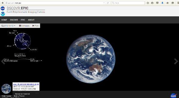 Nasa, un sito per le immagini no stop della Terra