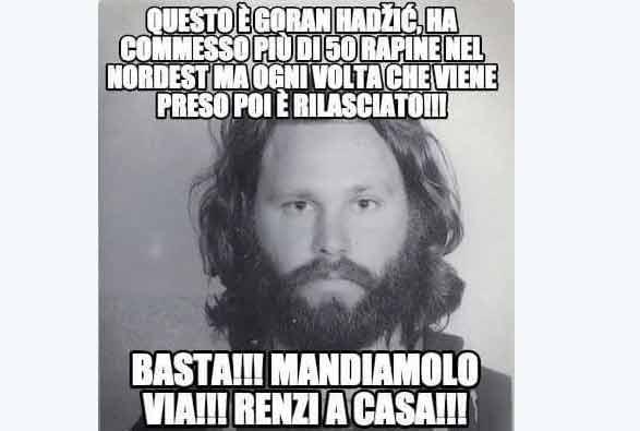 Gasparri e Jim Morrison la gaffe che fa il giro in rete