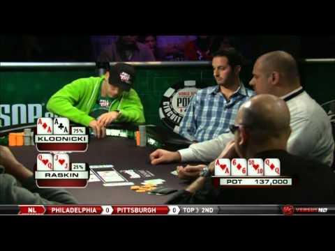 World Series of Poker final